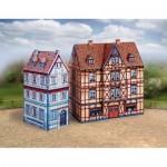 Puzzle  Schreiber-Bogen-751 Cardboard Model: Old Town Set 7