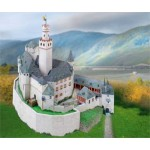 Puzzle  Schreiber-Bogen-753 Cardboard Model: Marksburg Castle