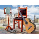 Puzzle  Schreiber-Bogen-762 Cardboard Model: Guitar