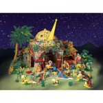 Puzzle  Schreiber-Bogen-776 Cardboard Model: Historical Paper Nativity Scenes