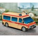Cardboard model: Ambulance