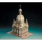 Puzzle   Cardboard Model: Church of Dresden, Germany