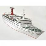 Puzzle   Cardboard Model:  Cruise Ship - TS Hamburg