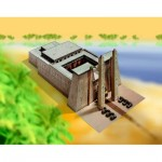 Puzzle   Cardboard Model: Egyptian Temple