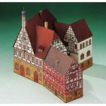 Puzzle   Cardboard Model: Forchheim Town Hall