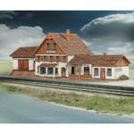 Puzzle   Cardboard model: Friedbach station train