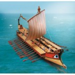 Puzzle   Cardboard Model: Greek Bireme