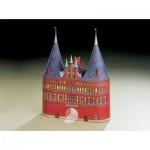 Puzzle   Cardboard model: Holstein Gate in Lübeck