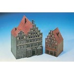 Cardboard Model: Houses from Luneburg 1