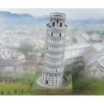 Puzzle   Cardboard Model: Leaning Tower of Pisa