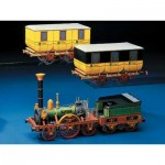 Puzzle   Cardboard Model: Ludwig Eagle Train