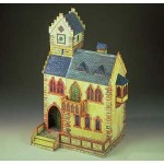 Puzzle   Cardboard Model: Medieval Town Hall