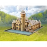 Puzzle   Cardboard Model: Mespelbrunn Castle