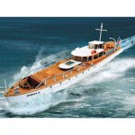 Puzzle   Cardboard Model: Motoryacht OHEKA II
