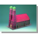 Puzzle   Cardboard Model: Munick Cathedral