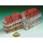 Puzzle   Cardboard Model: Naughty House Forchheim