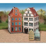 Puzzle   Cardboard Model: Old Town Set 1