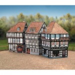 Puzzle   Cardboard Model: Old Town-Set2