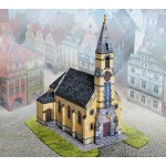 Puzzle   Cardboard Model: Pfersbach Old Town Church