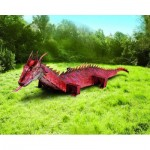 Puzzle   Cardboard Model: Red Dragon
