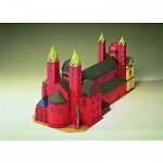 Puzzle   Cardboard Model: Speyer Cathedral