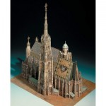 Puzzle   Cardboard Model: St. Stephen's Cathedral in Vienna