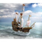 Puzzle   Cardboard Model: The Columbus Ship Santa Maria