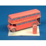 Puzzle   Cardboard model: The London buses