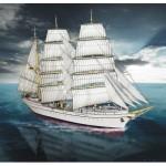Puzzle   Carton model: Sailboat Gorch Fock
