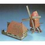 Carton Model: Windmill and Farm Building