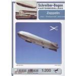 Puzzle   Carton model: Zeppelin junior
