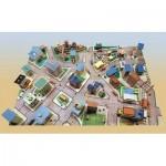 Puzzle  Schreiber-Bogen-S111 Cardboard model: Toddler Town