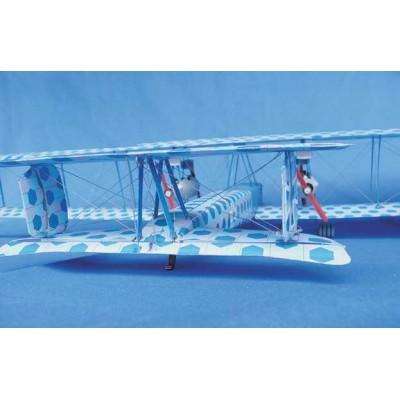 Puzzle Schreiber-Bogen-S112 Cardboard model: Zeppelin Staaken R.VI