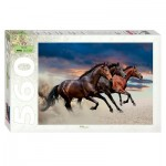 Puzzle  Step-Puzzle-78093 Horses