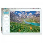 Puzzle  Step-Puzzle-78095 Altai Mountains