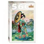 Puzzle  Step-Puzzle-78109 Japanese Woman