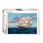 Puzzle  Step-Puzzle-79096 Sailing Ship