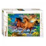Puzzle  Step-Puzzle-79097 Horses