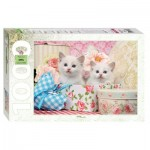 Puzzle  Step-Puzzle-79100 Kittens