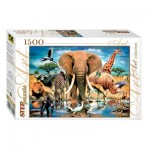 Puzzle  Step-Puzzle-83042 World of Animals