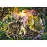 Puzzle  Step-Puzzle-83046 Wolves