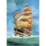 Puzzle  Step-Puzzle-83047 Sailing ship