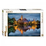 Puzzle  Step-Puzzle-83050 The castle by the lake
