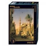 Puzzle  Step-Puzzle-83207 Prosper Marilhat - Elizbekia Street in Cairo