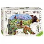 Puzzle  Step-Puzzle-83501 Bear