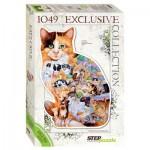 Puzzle  Step-Puzzle-83502 Cat
