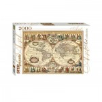 Puzzle  Step-Puzzle-84003 Historical Map of the World