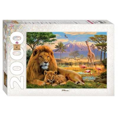 Puzzle Step-Puzzle-84028 Lions