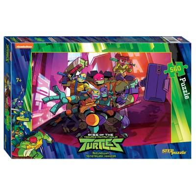 Puzzle Step-Puzzle-97070 Ninja Turtles