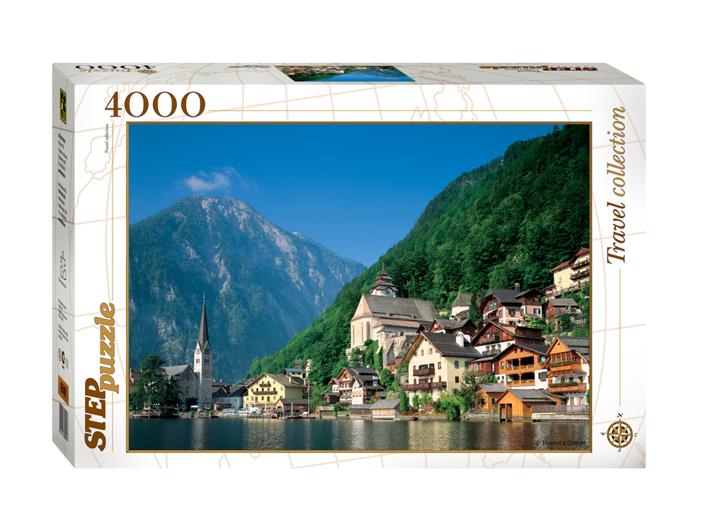 puzzle hallstatt austria step puzzle 85401 4000 pieces jigsaw puzzles mountains jigsaw puzzle. Black Bedroom Furniture Sets. Home Design Ideas